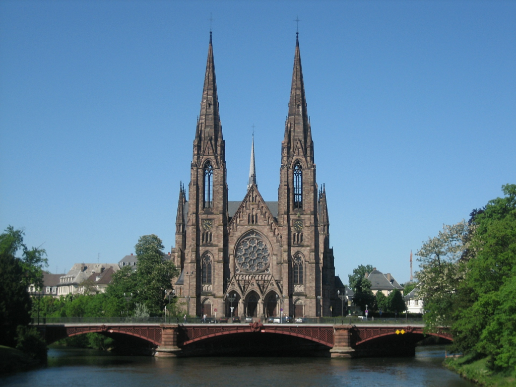visiter strasbourg église saint paul