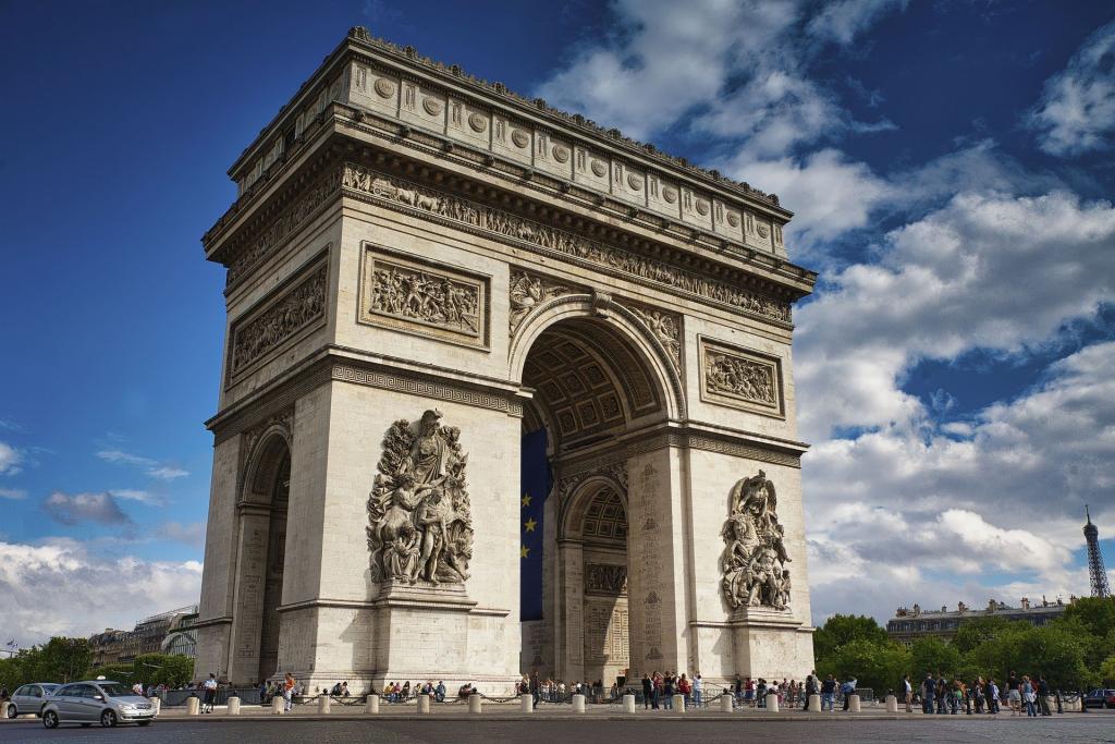 l'arc du triomphe paris